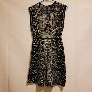 BCBG Mini Black and White Dress S/P